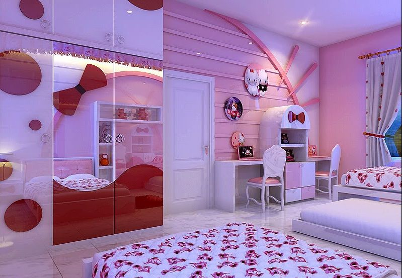 Everyone Will Love This Cute Hello Kitty Themed Bedroom And Accessories Ideas Especially If Hello Kitty Room Decor Hello Kitty Rooms Hello Kitty Bedroom Decor,Rhode Island Beach Rentals Oceanfront
