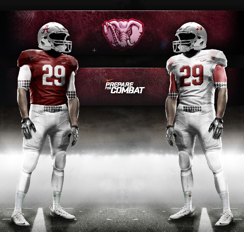 7a754c10a Nike 2013 Alabama Football Uniforms. Would like to see the old helmet  format but otherwise I like it.