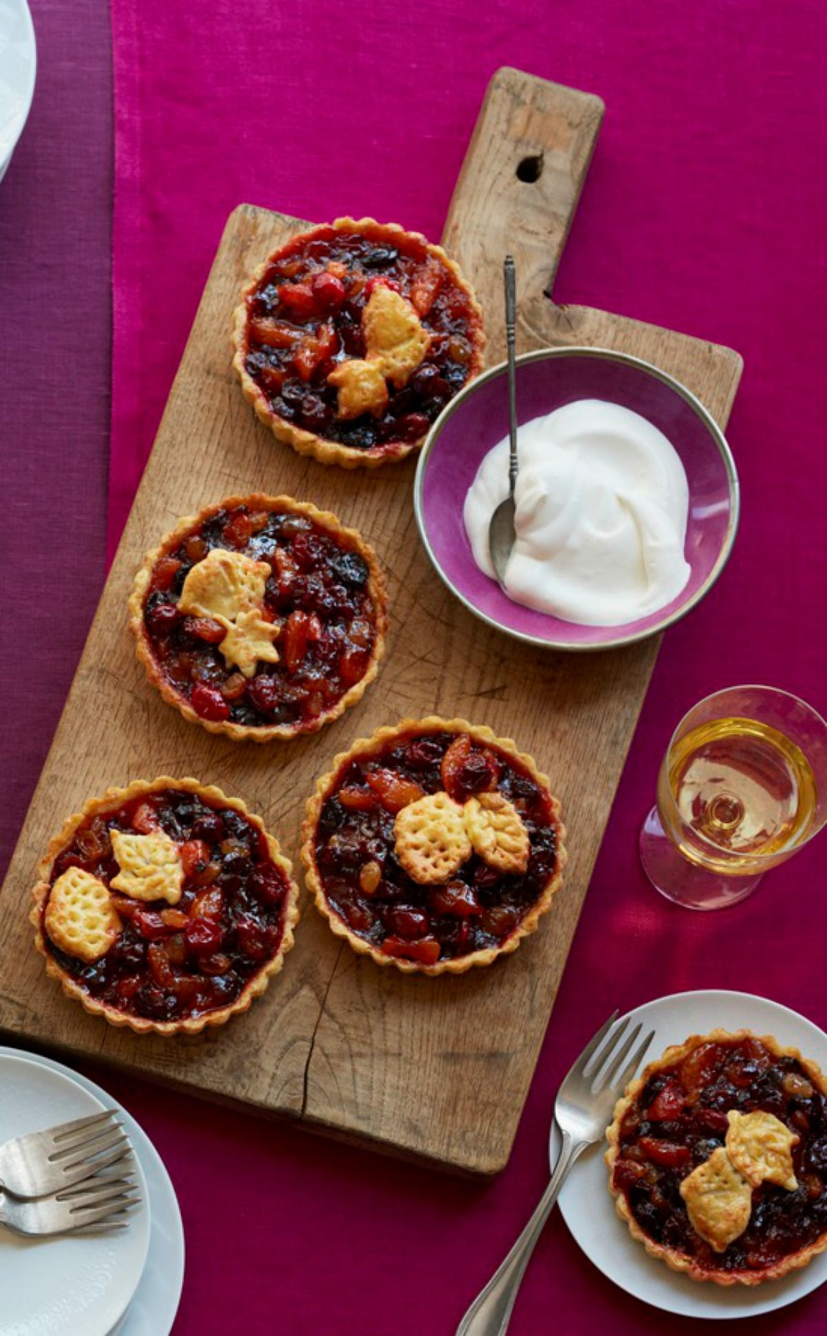 Mini Mince Tarts with Cheddar Crusts images