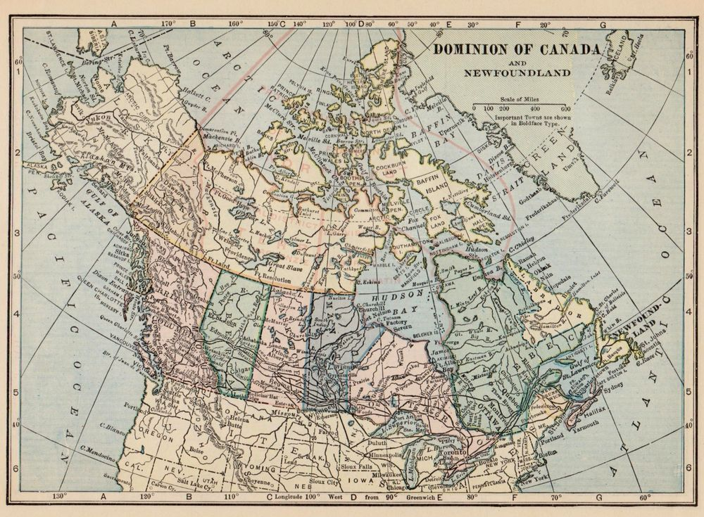 Antique canada map 1931 vintage map of canada gallery wall art smap antique canada map 1931 vintage map of canada gallery wall art smap 1027 gumiabroncs Choice Image