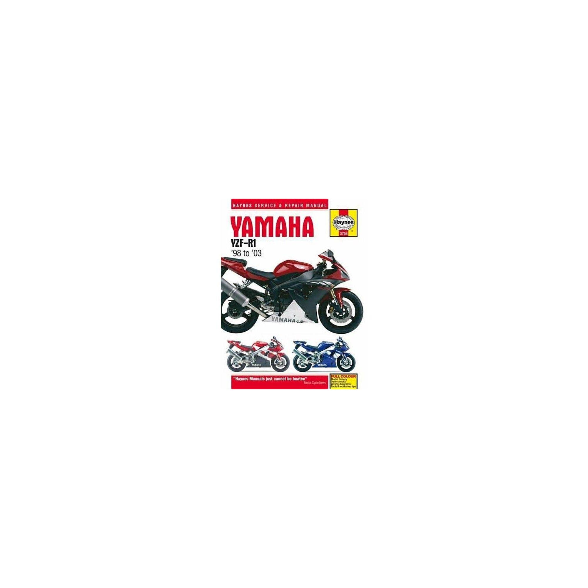 MANUAL YAMAHA YZF-R1 98-03
