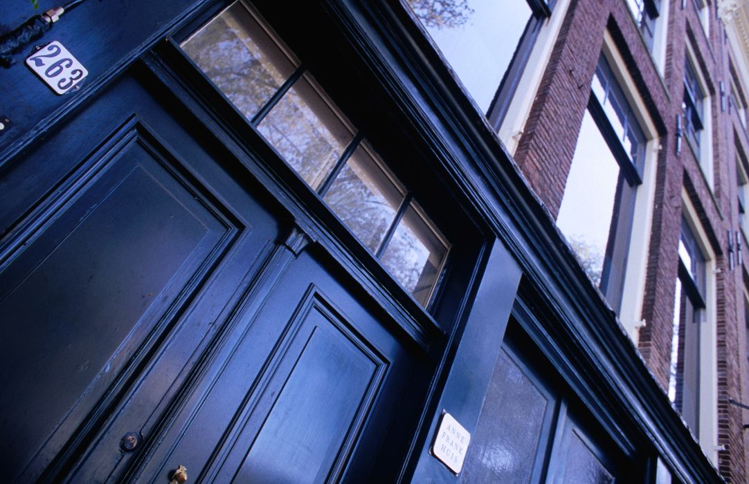 The Netherlands, Amsterdam image gallery - Lonely Planet   Door of Anne Frank house.