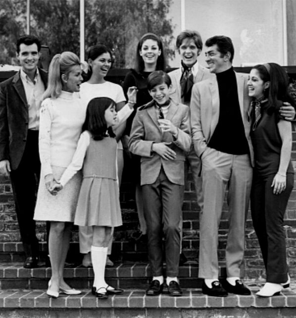 Dean Martin and his family / AS1966                                                                                                                                                      More