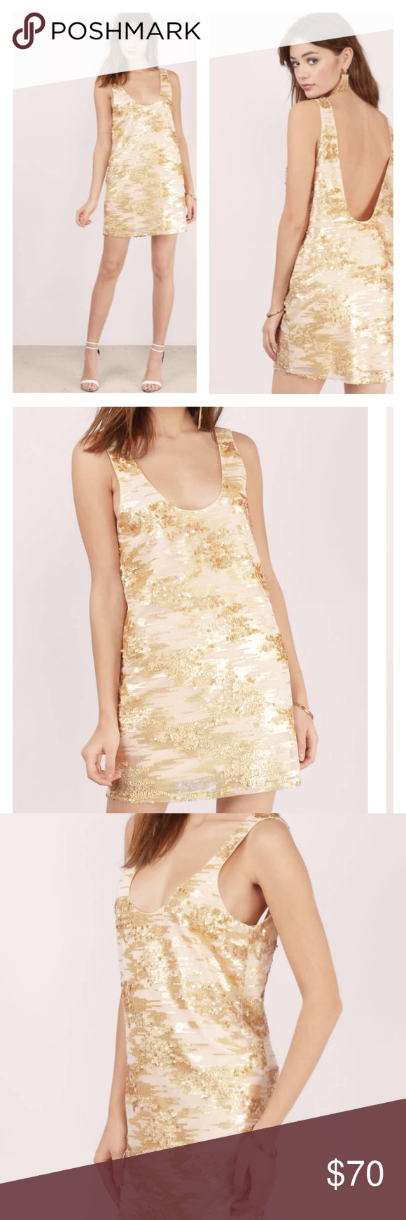 All that glitters gold sequin shift dress make like a disco ball