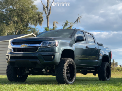 2019 Chevrolet Colorado 20x12 44mm Ultra Hunter Chevy Colorado Chevrolet Colorado Chevy Trucks