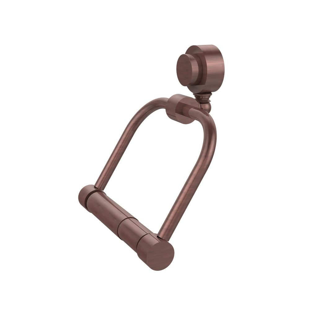 Photo of Allied Brass Venus Collection Single Post Toilet Paper Holder in Antique Brass-424-ABR – The Home Depot