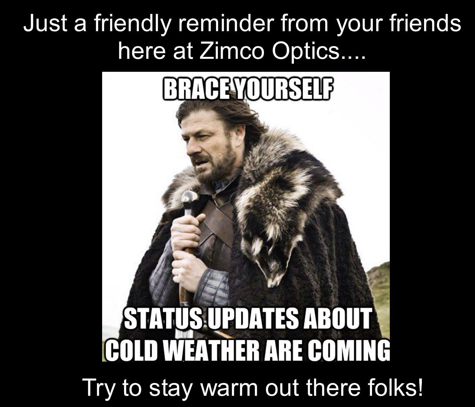 Coldweather Dreamingofspring Nyc Winter Is Coming Meme New Fantasy Sean Bean