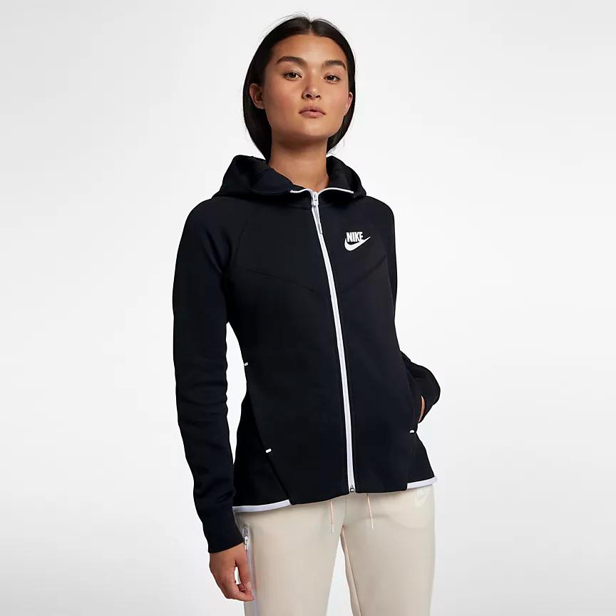 Sportswear Tech Fleece Windrunner Hoodie met rits voor dames