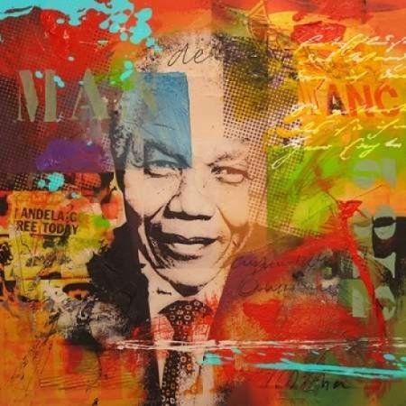 Mandela Canvas Art - Micha Baker (24 x 24)