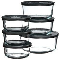 Pyrex No Leak Lid 12 Piece Food Storage Vessel Set By Pyrex 49 99 This Pyrex Storage Vessel Set Is Made Of Glass Pyrex Storage Food Storage Home Goods Store