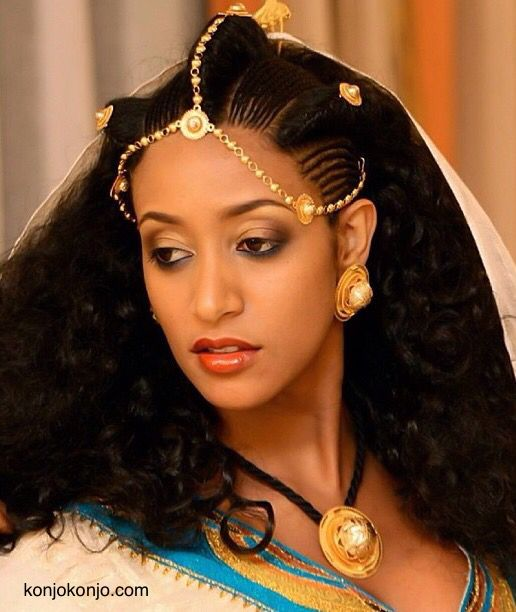 Traditional Eritrean Ethiopain Hairstyle Konjokonjo Com Ethiopian Hair Ethiopian Beauty Ethiopian Wedding