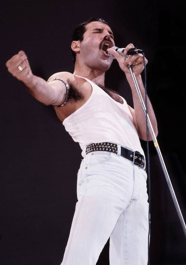 """Freddie Mercury Photo: """"I won't be a rockstar, I will be a legend"""" - Freddie Mercury #freddiemercury"""