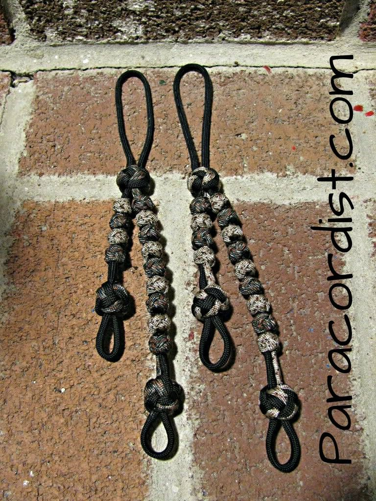 Paracordist Creations LLC - Side by Side Ranger Pace Counter Beads, $16.95 Another Paracordist original!  Shorter length means less flapping. Accessory loops provided. Our all-paracord beads are silent, won't split in two under cold weather conditions, won't slide on their own and are virtually indestructible. Secure to carabiner or belt using integrated loop. Fixed knots are larger than beads, allowing solid grip for sliding back beads, as well as low light/no light operation by feel.