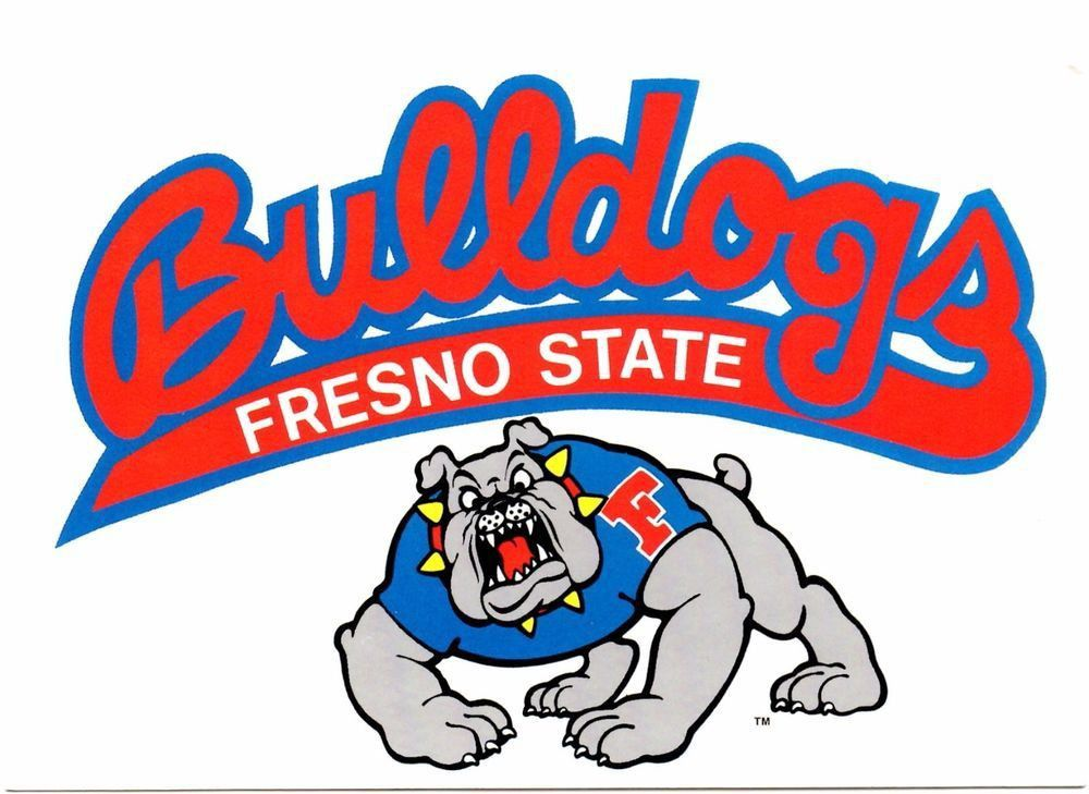 Fresno State University Mascot In 2021 Fresno State California Postcard Fresno