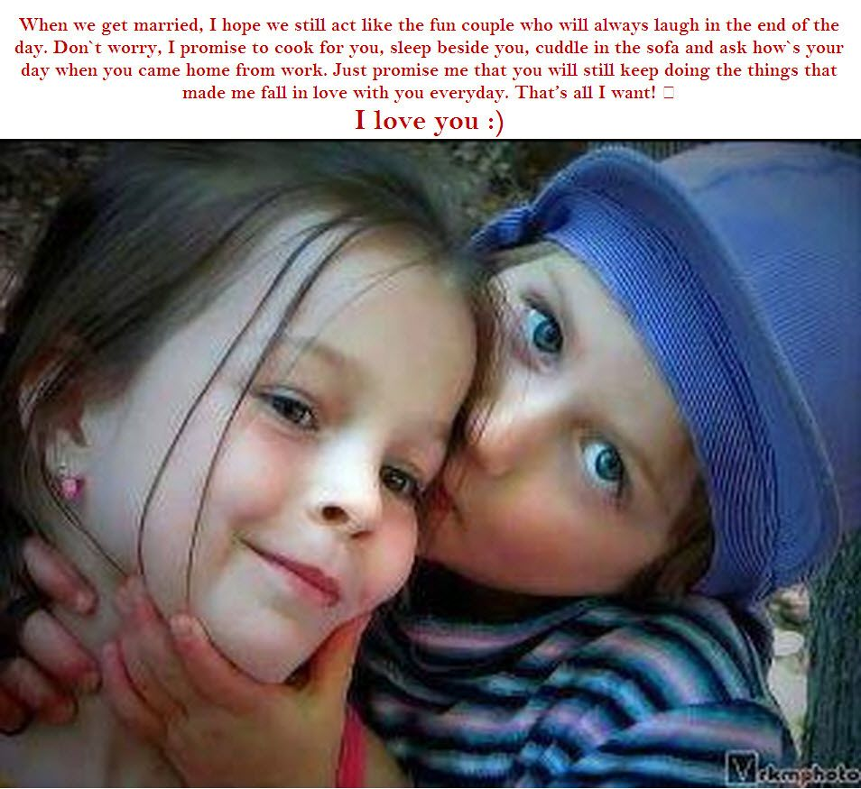 kids romantic pictures