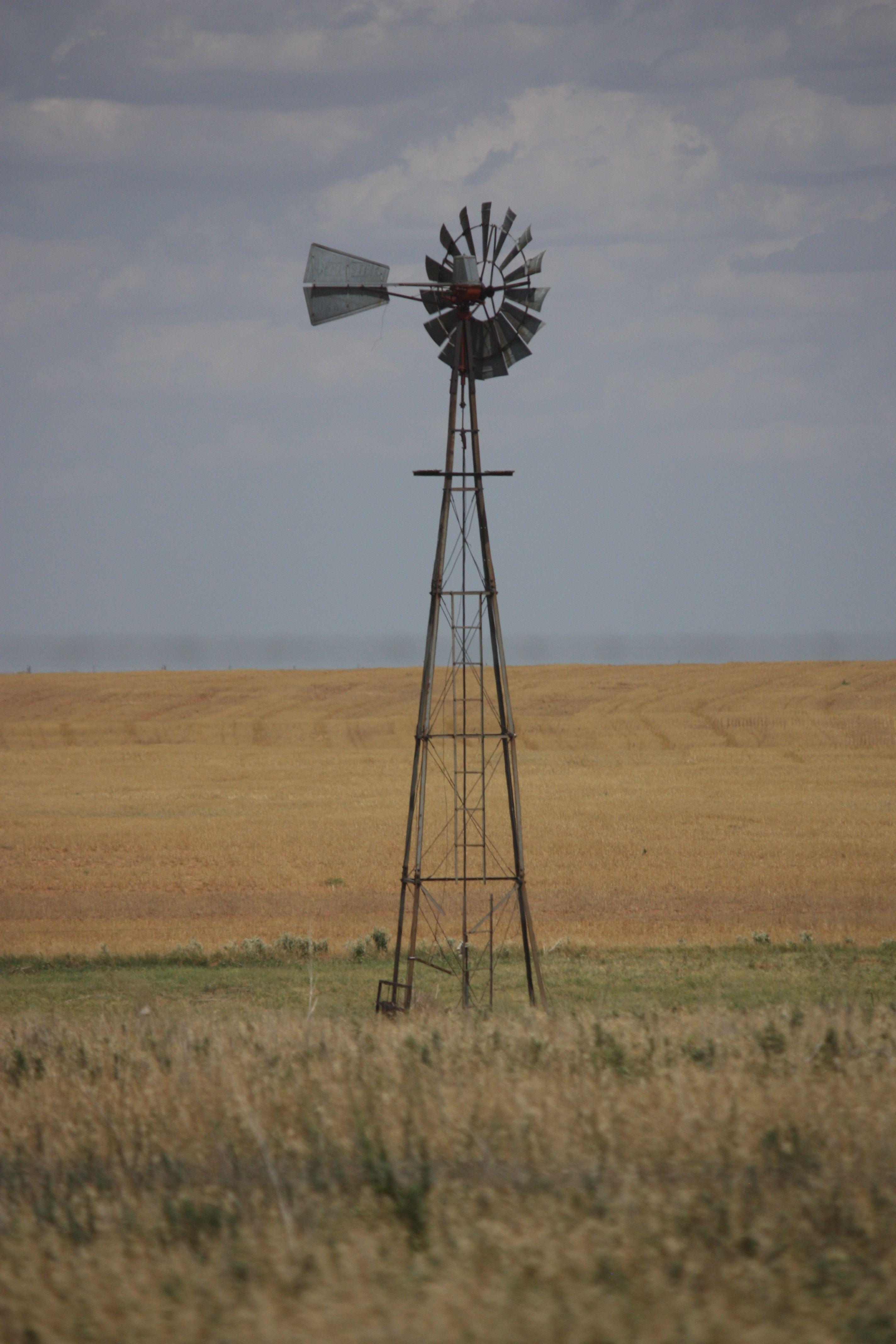 Kansas Windmill Old Windmills Farm Windmill Windmill