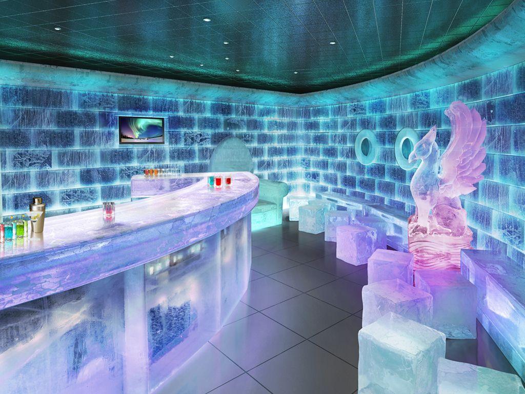 Icebar In Norwegian Getaway Travel Pinterest Cruises - Ice bar on cruise ship