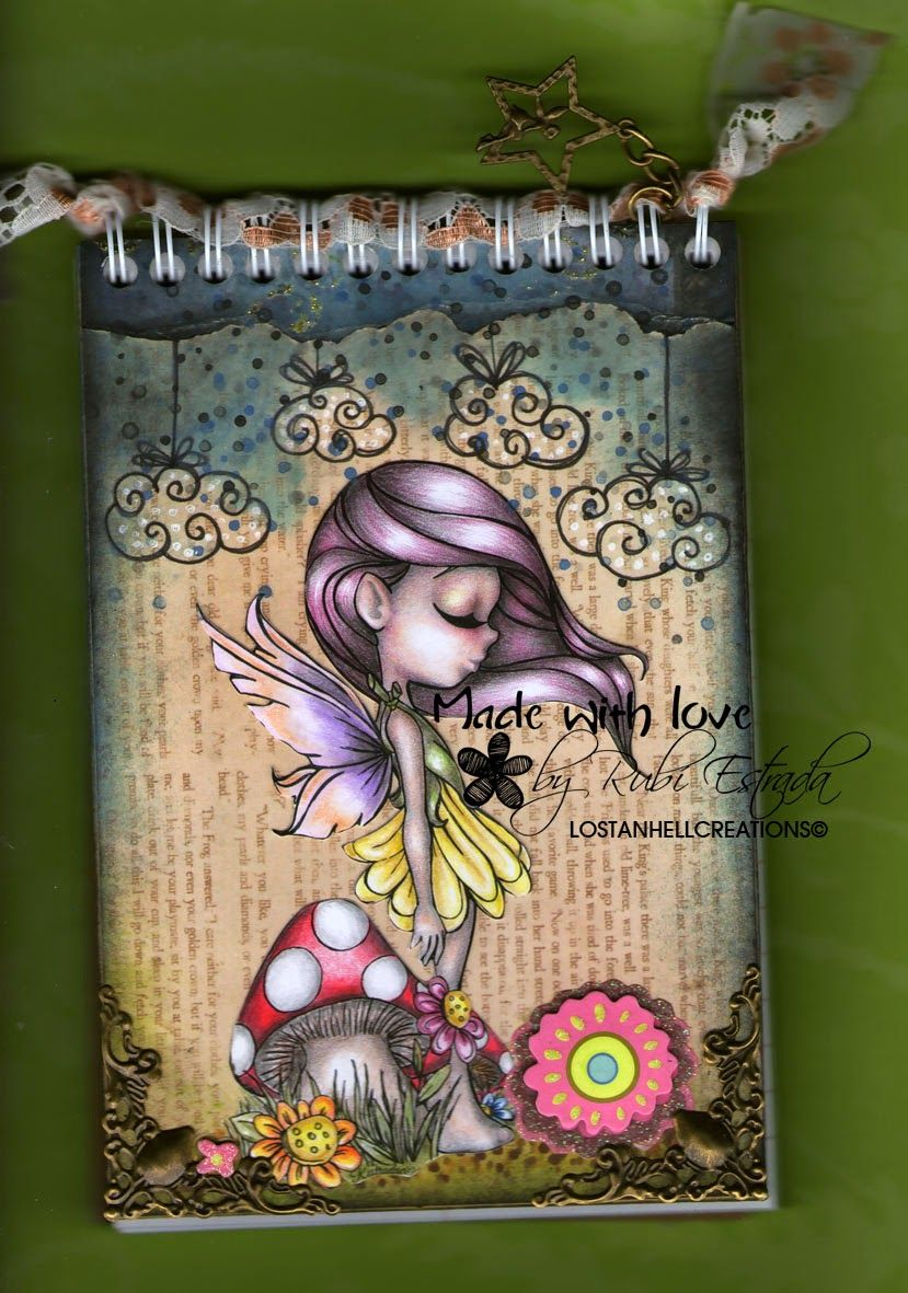 Lostanhell creations: Happy coloring by Rubí Estrada