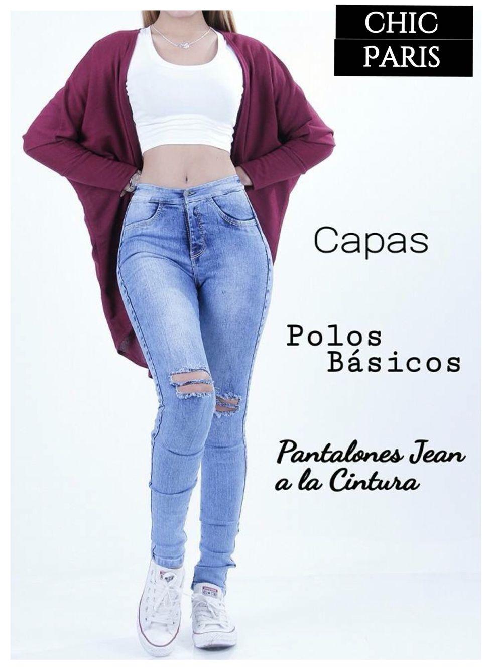 Pantalon a la CINTURA Rasgado + Capa+Crop top Basico | casual chic | Pinterest | Cintura ...