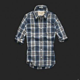 Nice color! Abercrombie and Fith Womens Plaid Shirts 006