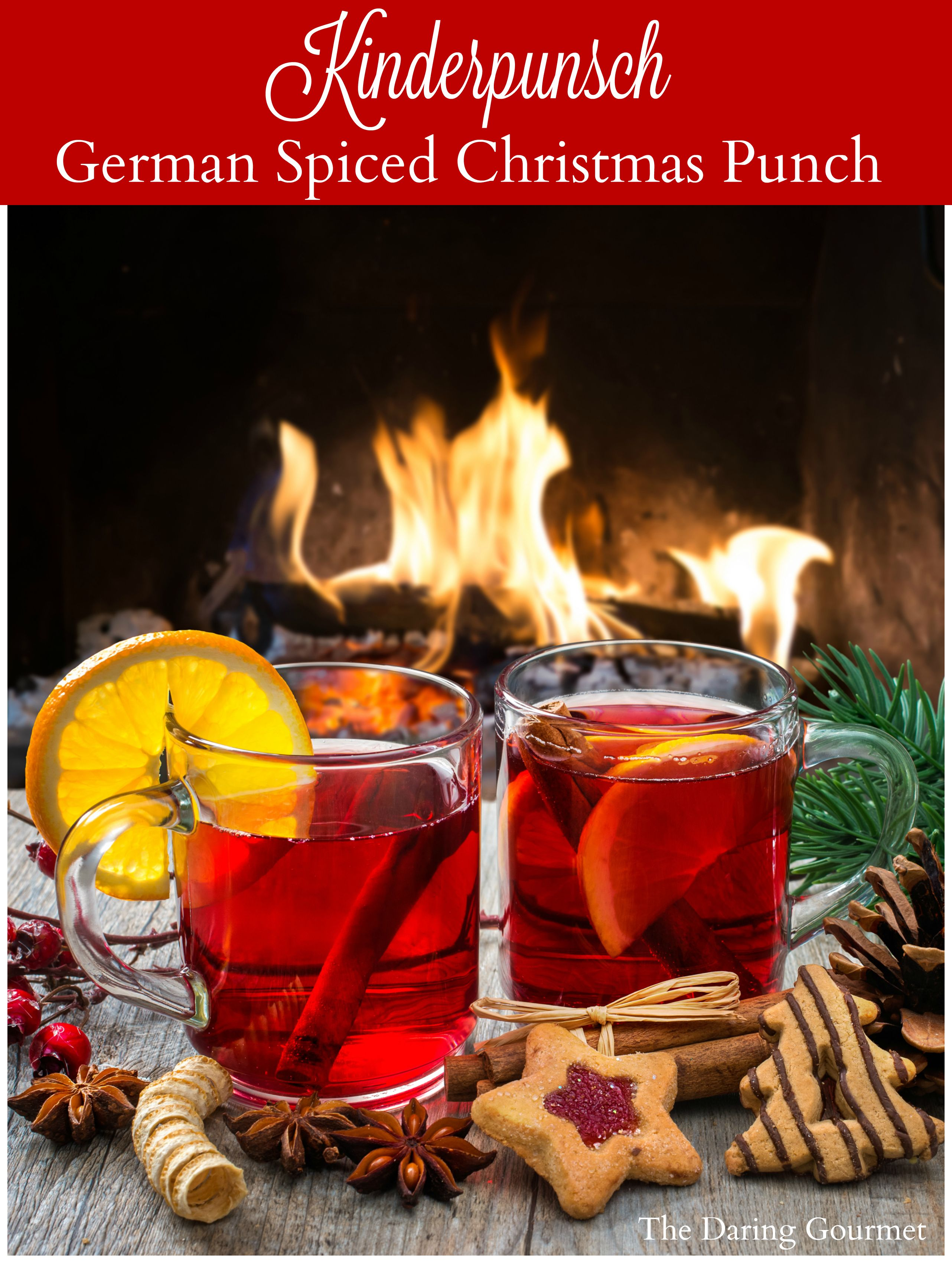 Kinderpunsch German Non Alcoholic Christmas Punch Recipe Christmas Drinks Non Alcoholic Christmas Punch Christmas Punch