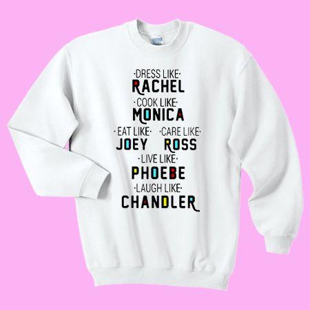 08618679d93 Friends Tv Show Sweatshirt and Hoodie