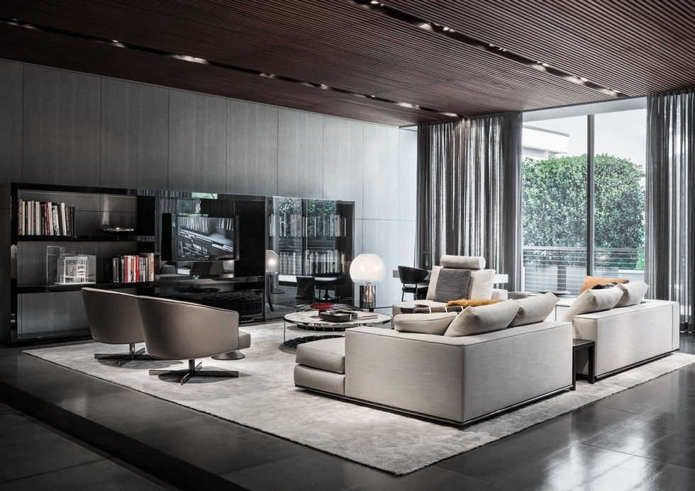 Milan furniture design news introducing new minotti 2015 collection modern interiors - Meubles minotti ...