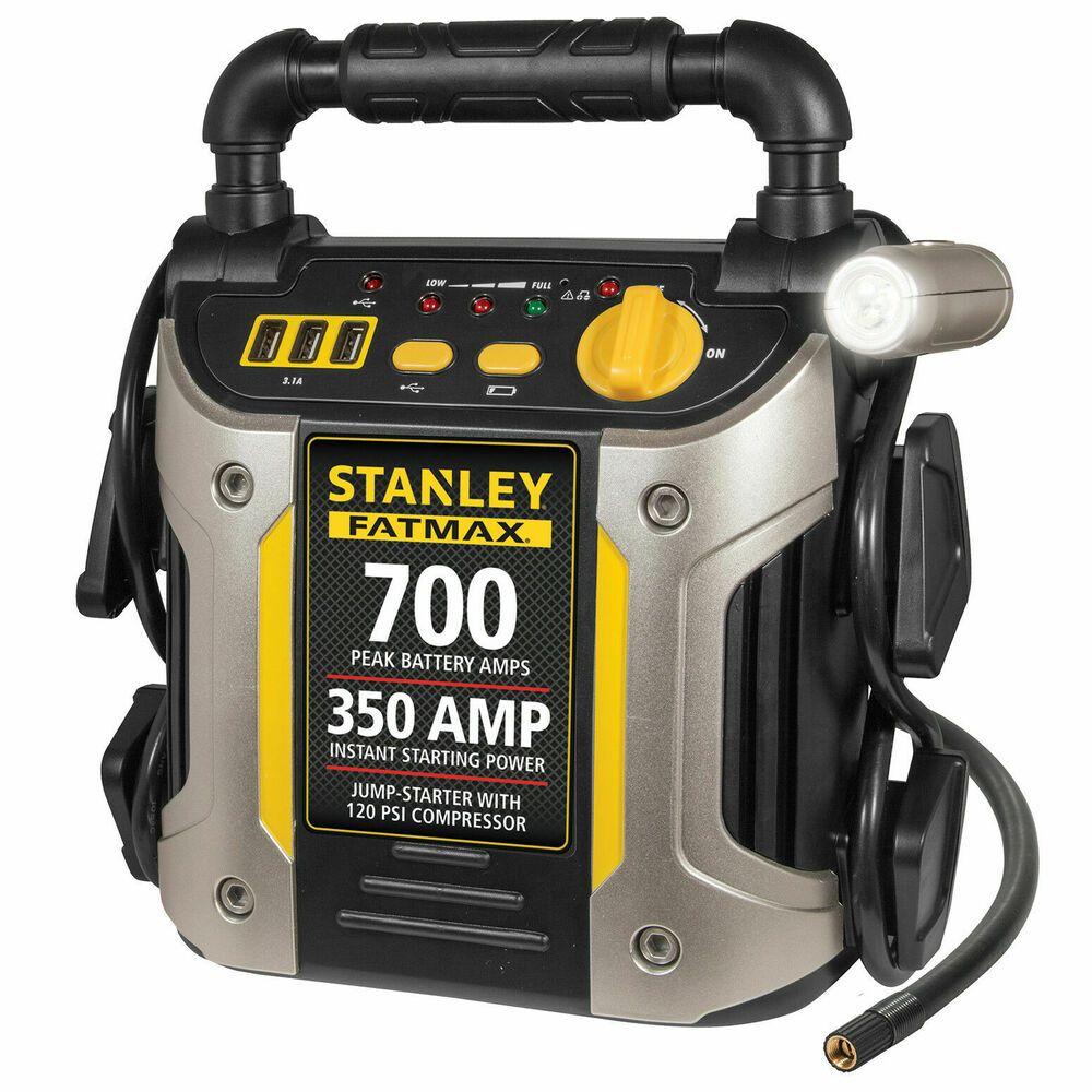 (eBay Advertisement) Portable Jump Starter 700 Amp with