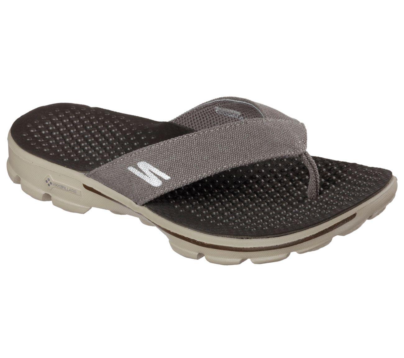 check out 60% cheap elegant shoes GOwalk 3 - Wind Surf | Mens skechers, Skechers, Sandals