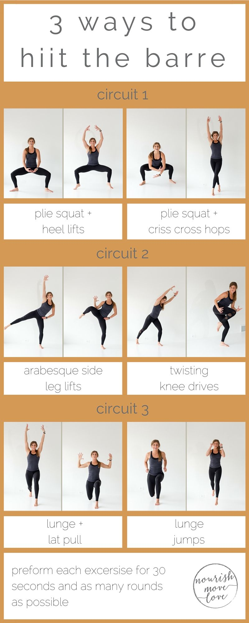 3 Barre HIIT Workouts - Get Healthy U