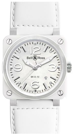 07397c757 Bell & Ross Aviation Instruments Women's Automatic Watch BR0392-WH-C ...