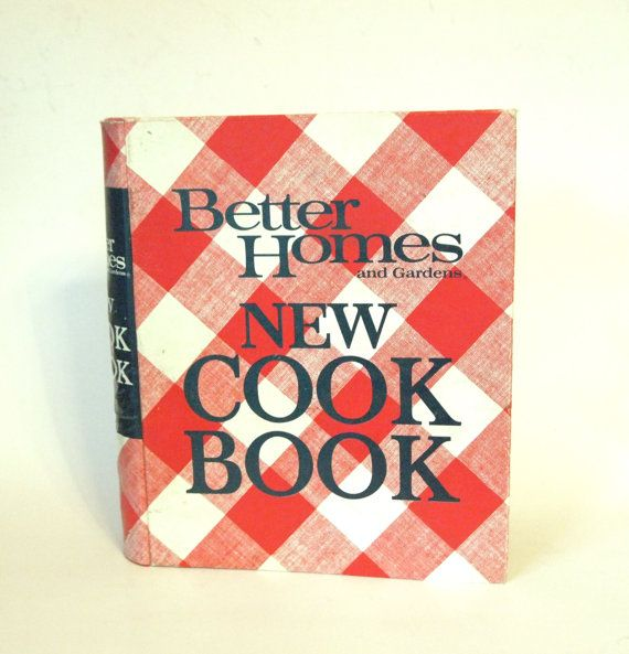 Better homes and gardens 1968 vintage cookbook 5 ring - Better homes and gardens cookbook 1968 ...
