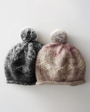 Marled hat inspiration!