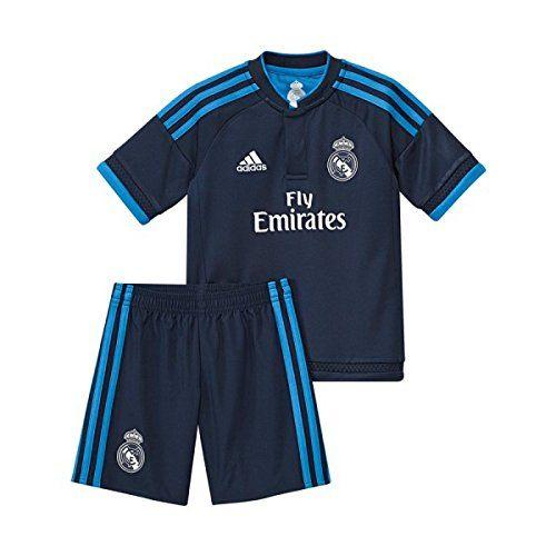 adidas 3ª Equipación Real Madrid CF SMU Mini - Conjunto #camiseta ...