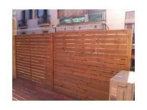 vendo vallas madera para jardn o terraza muebles electrodomsticos 12 - Vallas Madera Jardin