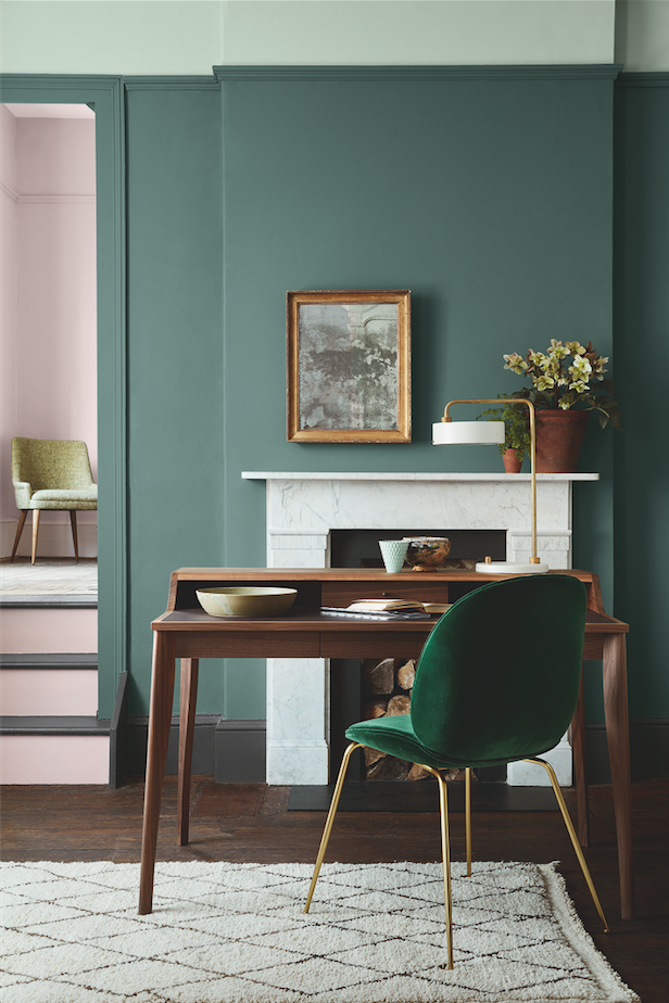 Attrayant A Beautiful Colour Combination For 2017 And 2018; Pink And Green Is Fresh  Vibrant And Really Adds Drama To A Space
