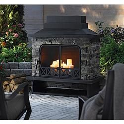 Kingston Outdoor Fireplace From Canadian Tire Outdoor Fireplace