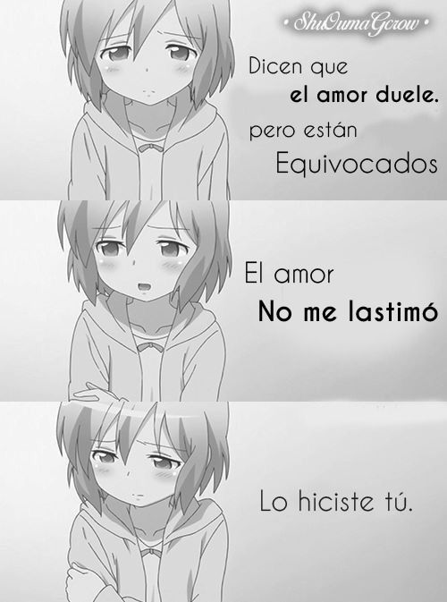 Anime Frases Anime Frases Sentimientos Shuoumagcrow Frases