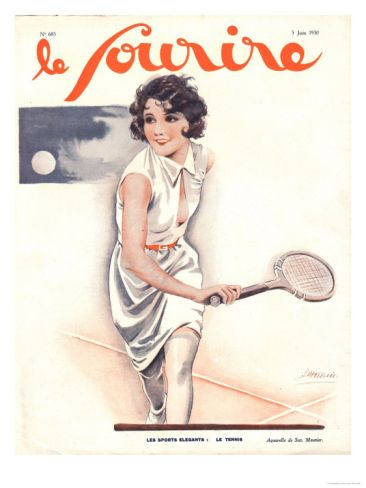 30 Tennis Themed Magazine Covers Throughout History Vintage Tennis Magazine Cover Tennis Art