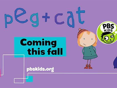 Peg and Cat on PBS Kids, Coming this Fall to KTWU!