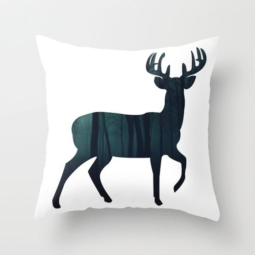@paisleyprintsonline $20.00 http://society6.com/product/buck-73b_pillow#25=193&18=126