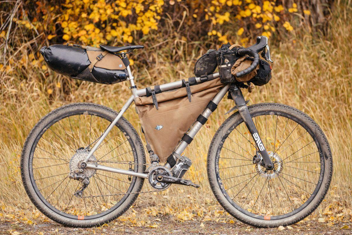 Ramblin on the Moots Baxter Rigid 29'r –   Bikepacking   Titanium