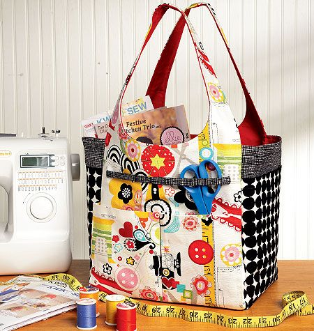 Crafty Carriers super organized | Selfish sewing | Pinterest ...