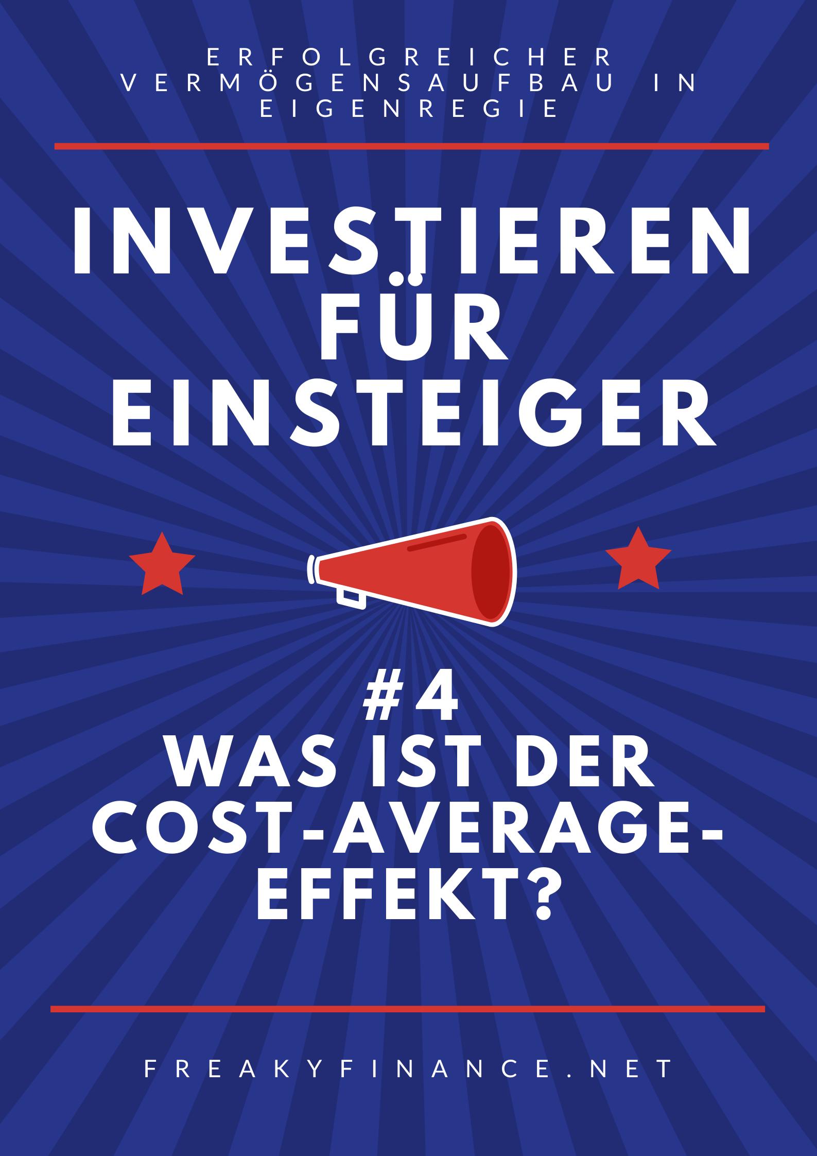 Der Durchschnittskosteneffekt Hit Oder Hype Finanzen Aktien Tipps Investieren