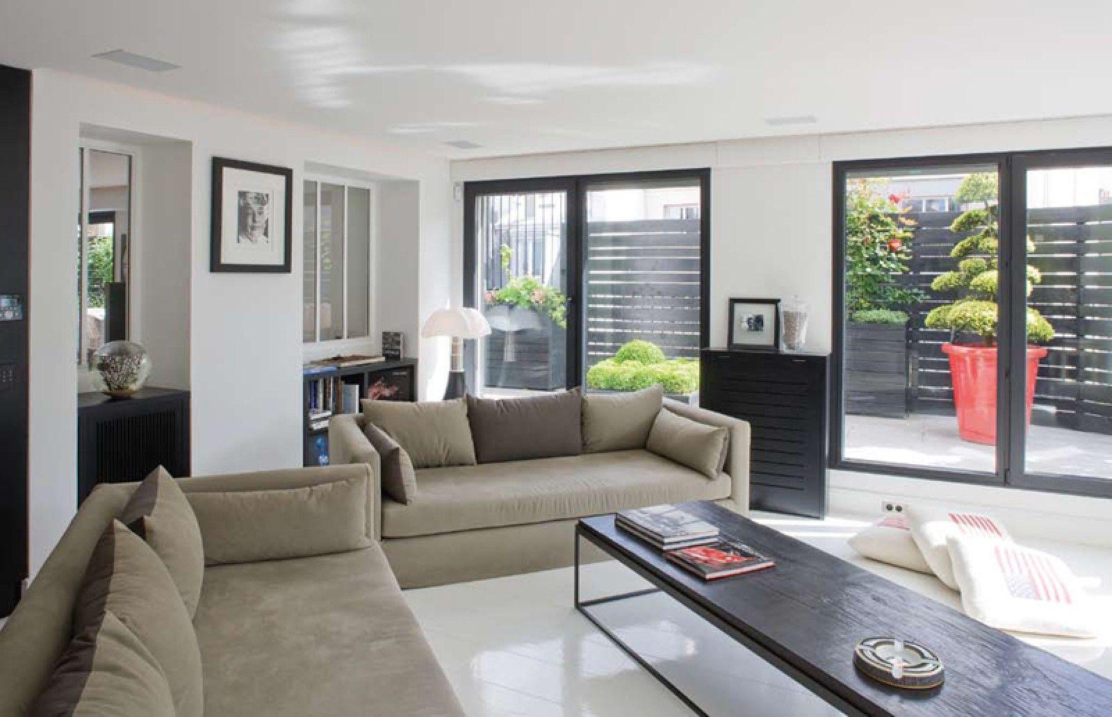 Neue wohnzimmer innenarchitektur duplex parisien  sarah lavoine  home  pinterest