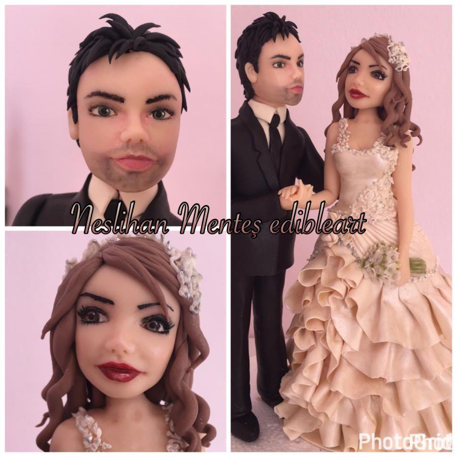 Wedding cake topper by Neslihan MENTES | Novios | Pinterest | Novios ...