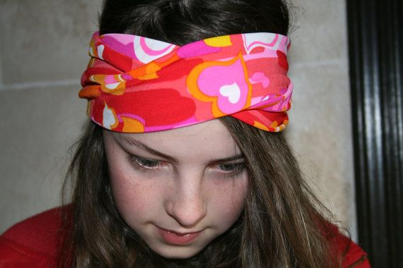 Hey, I found this really awesome Etsy listing at https://www.etsy.com/listing/220541255/heart-headband-turban-workout-headband