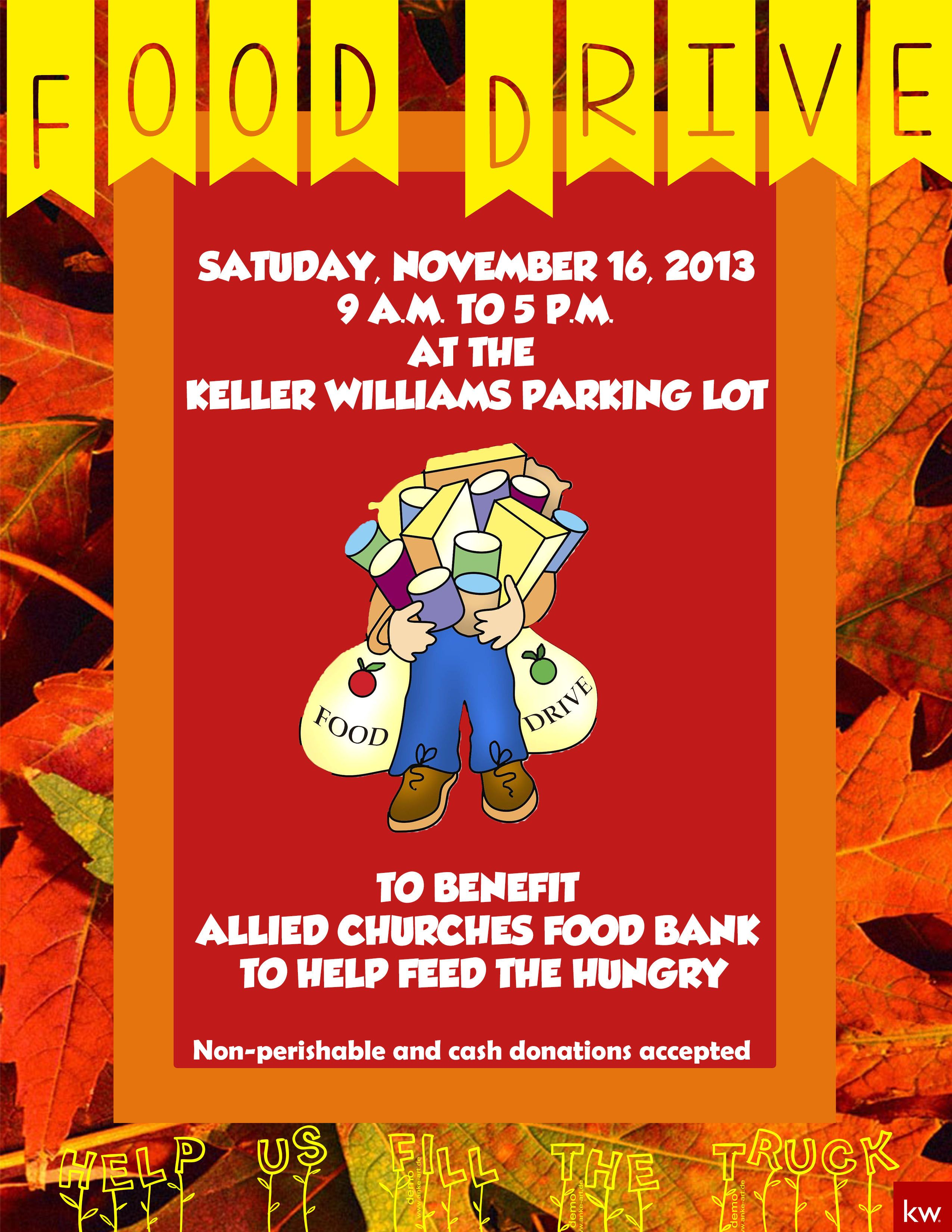Support The Allied Churches Food Pantry On Saturday
