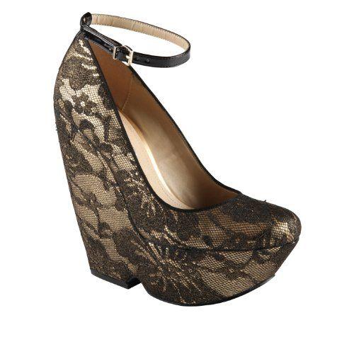 59232e7446af ALDO Olmos - Women Wedge Shoes - Gold - 7½ Aldo