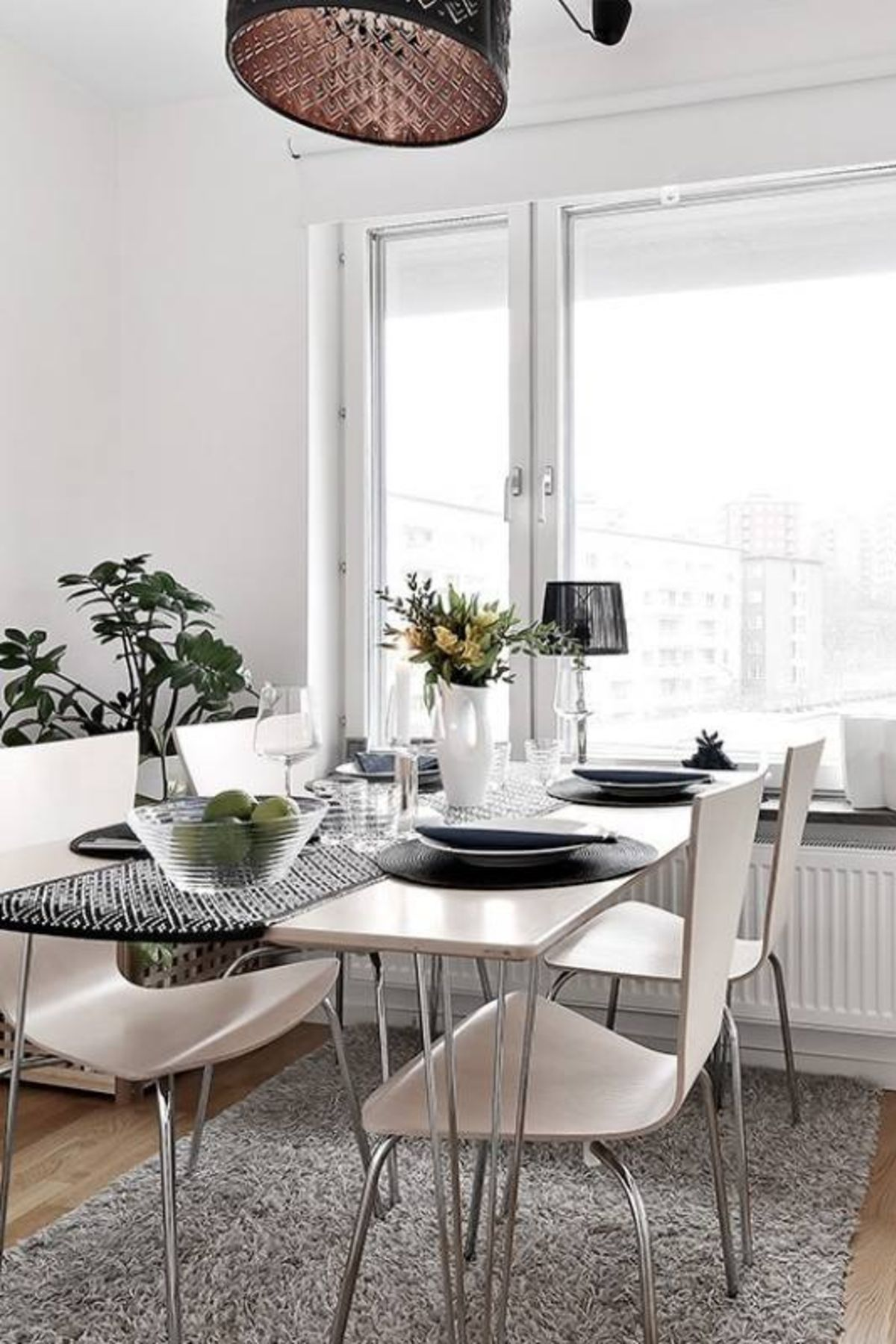51 Scandinavian Stylish Dining Room Decor Ideas Minimalist Dining Room Dining Room Design Chic Dining Room